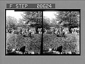 view Happy childhood hours--May Day scene in Central Park. 468 photonegative digital asset: Happy childhood hours--May Day scene in Central Park. 468 photonegative.