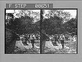view [Miniature train in New York City's Central Park.] 505 photonegative digital asset: [Miniature train in New York City's Central Park.] 505 photonegative.