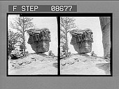 view [Balancing Rock.] 566 Photonegative digital asset: [Balancing Rock.] 566 Photonegative 1903