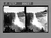 view Nevada Falls (700 ft.) Yosemite. 590 Photonegative digital asset: Nevada Falls (700 ft.) Yosemite. 590 Photonegative 1905.
