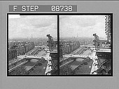 view [High view of Seine River in Paris. Active no. 657 : stereo photonegative.] digital asset: [High view of Seine River in Paris. Active no. 657 : stereo photonegative.]