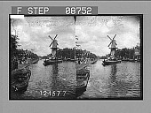 view In picturesque Holland, Rotterdam. Active no. 675 : stereo photonegative, 1905 digital asset number 1