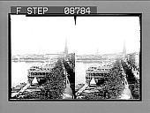 view [Harbor scene.] 732 Photonegative digital asset: [Harbor scene.] 732 Photonegative.