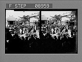 view A holiday in Osaka, Japan. 1031 photonegative digital asset: A holiday in Osaka, Japan. 1031 photonegative.