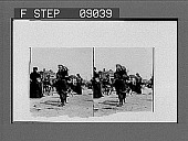 """view On the beach, """"Coney."""" [Active no. 1183 : stereo photonegative.] digital asset: On the beach, """"Coney."""" [Active no. 1183 : stereo photonegative.]"""