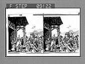 view (2) The Adoration of the Wise Men. [Active no. 1315 : stereo photonegative.] digital asset: (2) The Adoration of the Wise Men. [Active no. 1315 : stereo photonegative.]