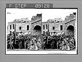 view (12) Jesus Meets His Mother. 1318 photonegative digital asset: (12) Jesus Meets His Mother. 1318 photonegative..
