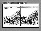 view (16) Jesus Consoles the Women of Jerusalem. 1322 photonegative digital asset: (16) Jesus Consoles the Women of Jerusalem. 1322 photonegative.