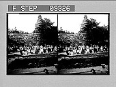 view The old folk-dances at Skansen. [Active no. 1576 : stereo photonegative,] digital asset: The old folk-dances at Skansen. [Active no. 1576 : stereo photonegative,] 1905.