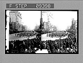 view Annapolis Midshipmen in Inauguration Parade. [Active No. 1665 : black-and-white stereoscopic photonegative,] digital asset: Annapolis Midshipmen in Inauguration Parade. [Active No. 1665 : black-and-white stereoscopic photonegative,] 1905.