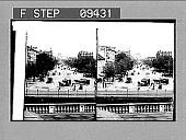 view [View down Pennsylvania Avenue to U.S. Capitol.] 1744 photonegative digital asset: [View down Pennsylvania Avenue to U.S. Capitol.] 1744 photonegative.