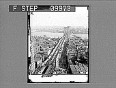 view Brooklyn Bridge from World Building, New York, U.S.A. [Active no. 21928 : half-stereo photonegative.] digital asset: Brooklyn Bridge from World Building, New York, U.S.A. [Active no. 21928 : half-stereo photonegative.]