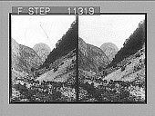 view [Mountains in Norway.] Photonegative digital asset: [Mountains in Norway.] Photonegative 1905.