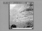 view Zigzag steeps of Grjotlid road to Marok--(10 miles travel for 3 3/4 miles straight distance). 683 Photonegative 1905 digital asset number 1
