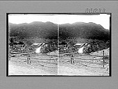 view A wayside mill and its primitive water-wheel, Telemarken [Norway]. [Active no. 720 : stereo photonegative,] digital asset: A wayside mill and its primitive water-wheel, Telemarken [Norway]. [Active no. 720 : stereo photonegative,] 1905.