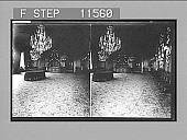 view Dining-room of the Royal Family in the King's Palace at Stockholm. 910 Photonegative 1905 digital asset number 1