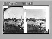 view [Dock scene in Sweden.] 947 Photonegative 1896 digital asset number 1