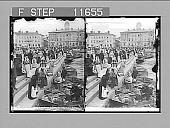 view Market boats, Helsingfors, Finland. [Active no. 1048 : stereo photonegative,] 1910 digital asset number 1