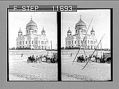 view Temple of Our Savior, the Greatest Church in Moscow. 1095 Photonegative 1910 digital asset number 1