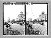 view [Side view from street of museum building in Moscow.] 1116 photonegative digital asset: [Side view from street of museum building in Moscow.] 1116 photonegative 1910.