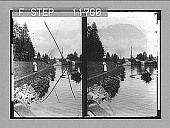 view The Locks at Sarkjarvi on the famous Saima Canal. 1161 Photonegative 1910 digital asset number 1