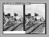 view Stacking salt in the great fields of Solinen, Black Sea. 1218 Photonegative 1910 digital asset number 1