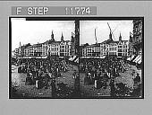 view The market place, Cologne. Photonegative 1900 digital asset number 1