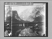 view The great Watzmann, on the Konigs-See; Bavaria. 1260 Photonegative digital asset number 1