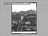 view Rothenburg, Bavaria, and medieval fortifications, scenes of sieges in Thirty Years War. 1263 Photonegative 1903 digital asset number 1