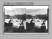 view Royalty's outlook--W. up Unter den Linden from windows of Empress Victoria Palace. Active no. 1297 : stereo photonegative digital asset: Royalty's outlook--W. up Unter den Linden from windows of Empress Victoria Palace. Active no. 1297 : stereo photonegative, 1903.