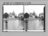 view Town Palace and St. Nicholas Church, Potsdam, N. across the Havel. 1347 photonegative 1903 digital asset number 1