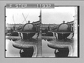 view Loot from Pekin--ancient Chinese astronomical globe in court of Orangerie, Potsdam. [Active no. 1348 : stereo photonegative,] 1905 digital asset number 1