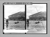 view Where Germany builds her ships--S.S. Kaiser Wilhelm II in shipyards, Stettin. 1356 Photonegative digital asset: Where Germany builds her ships--S.S. Kaiser Wilhelm II in shipyards, Stettin. 1356 Photonegative 1905.