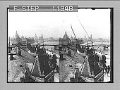 view [City bridge and river in Germany.] photonegative 1905 digital asset number 1