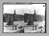 view [Monument in city plaza in Germany.] photonegative 1905 digital asset number 1