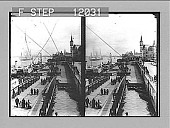 view North along the River Scheld, where shipping once made Antwerp Europe's richest commercial port. 1482 photonegative 1905 digital asset number 1