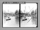 view [City bridge and river in Holland.] 1512 photonegative 1905 digital asset number 1