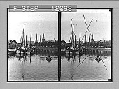 view Prosperous and charming Groningen--St. Martin's Kerk and university museum beyond canal. 1517 photonegative 1905 digital asset number 1
