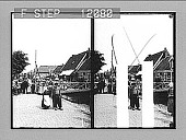 view Neighbors big and little in a tidy street along the dike, Volendam. 1526 Photonegative digital asset: Neighbors big and little in a tidy street along the dike, Volendam. 1526 Photonegative 1905.