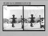 view The Obelisk and Fountains, Place de la Concorde, Paris. 1556 Photonegative 1900 digital asset number 1