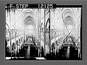 view Interior of the great Notre Dame Cathedral, Paris. [Active no. 1558 : stereo photonegative,] 1905 digital asset number 1
