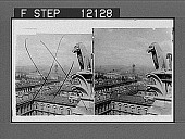 view Looking north from the tower of Notre Dame--St. Jacques Tower and Montmartre Heights in distance--Paris. [Active no. 1559 : stereo photonegative,] 1900 digital asset number 1