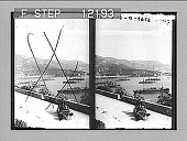 view The French squadron in the harbor of Ville Franche, South France. 1607 Photonegative 1898 digital asset number 1