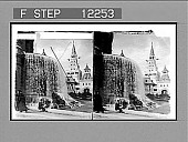 view Beautiful Trocadero fountains and Pavilion of Russian Colonies, Exposition 1900. [Active no. 1669 : stereo photonegative,] 1900 digital asset number 1