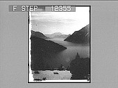 view The Lake of Lucerne from the Axenstein. [Active no. 1748 non-stereo photonegative,] digital asset: The Lake of Lucerne from the Axenstein. 1748 Photonegative 1906.