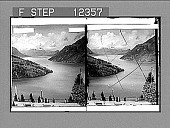 view The Lake of Lucerne from the Axenstein. [Active no. 1748 : stereo photonegative.] digital asset: The Lake of Lucerne from the Axenstein. 1748 Photonegative.