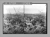 view The River Aare at Berne and distant Alps. [Active no. 1752 : stereo photonegative,] 1906 digital asset number 1