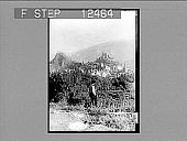 view Sion, with its mediaeval homes and castles, Rhone Valley. 1803 Photonegative 1906 digital asset number 1