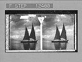 view Sunset, Lake Geneva. 1811 Photonegative digital asset: Sunset, Lake Geneva. 1811 Photonegative 1906.