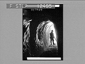 view Tunnel in the glacier des Bossons, Mt. Blanc, Alps. 1818 Photonegative 1906 digital asset number 1